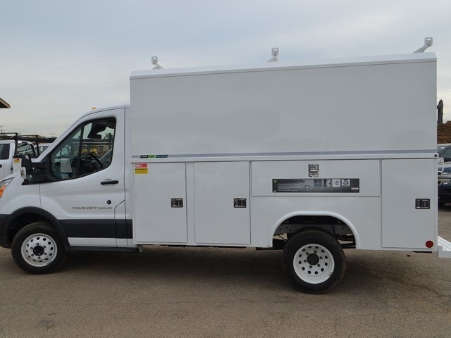 2018 Transit 350 HD DRW 4x2,  Reading Service Utility Van #AT09867 - photo 7