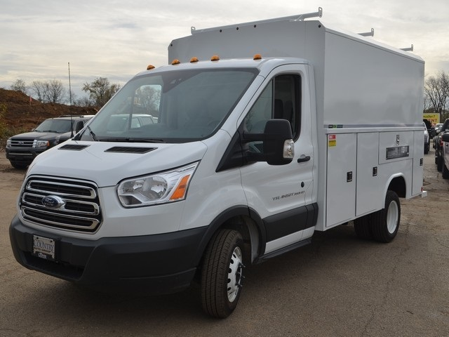 2018 Transit 350 HD DRW 4x2,  Reading Service Utility Van #AT09867 - photo 8
