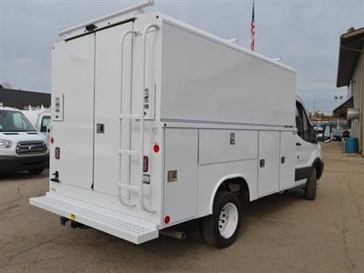 2018 Transit 350 HD DRW 4x2,  Reading Aluminum CSV Service Utility Van #AT09867 - photo 2