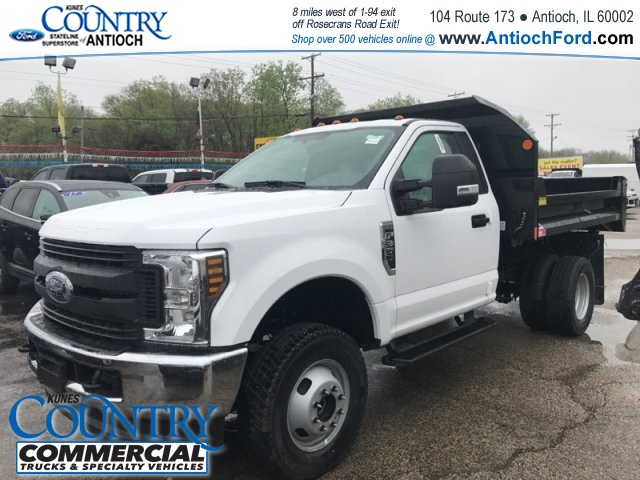 2018 F-350 Regular Cab DRW 4x4,  Monroe Dump Body #AT09876 - photo 3