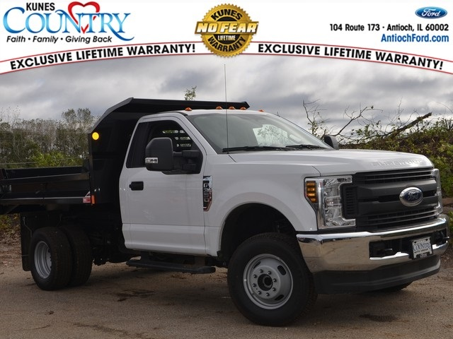 2018 F-350 Regular Cab DRW 4x4,  Monroe MTE-Zee Dump Body #AT09876 - photo 1