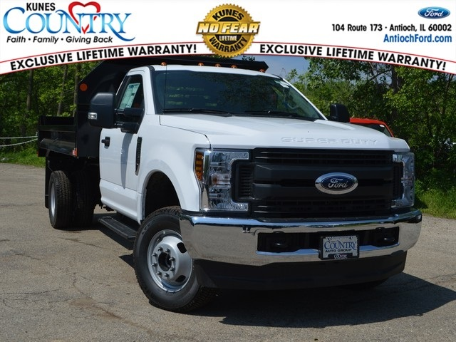 2018 F-350 Regular Cab DRW 4x4,  Monroe MTE-Zee Dump Body #AT09877 - photo 1