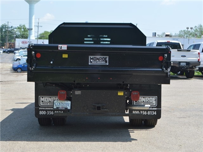 2018 F-350 Regular Cab DRW 4x4,  Monroe MTE-Zee Dump Body #AT09877 - photo 4