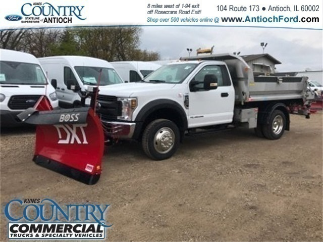 2018 F-550 Regular Cab DRW 4x4, Monroe Dump Body #AT09914 - photo 5