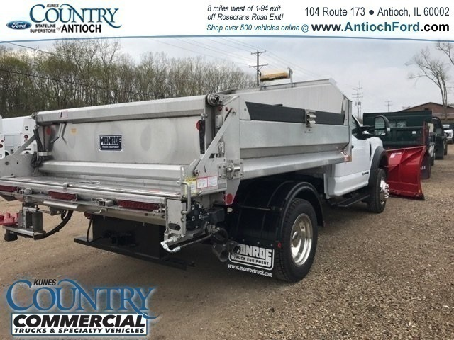 2018 F-550 Regular Cab DRW 4x4, Monroe Dump Body #AT09914 - photo 4