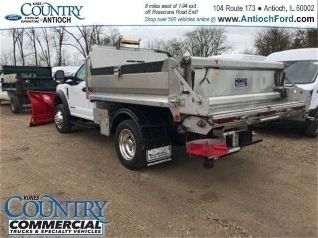 2018 F-550 Regular Cab DRW 4x4, Monroe Dump Body #AT09914 - photo 2