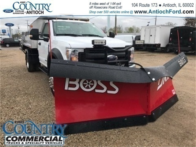 2018 F-550 Regular Cab DRW 4x4, Monroe Dump Body #AT09914 - photo 3