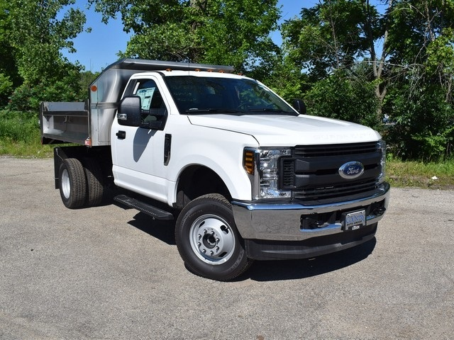 2018 F-350 Regular Cab DRW 4x4,  Monroe Dump Body #AT09924 - photo 8
