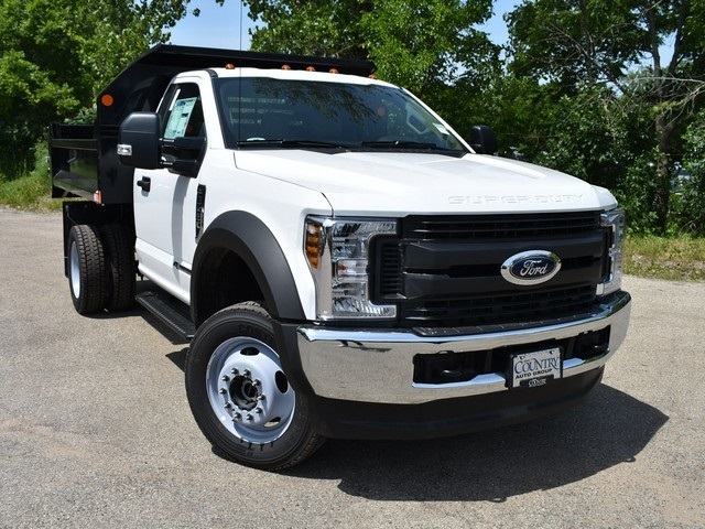 2018 F-450 Regular Cab DRW 4x4,  Monroe Dump Body #AT09956 - photo 8