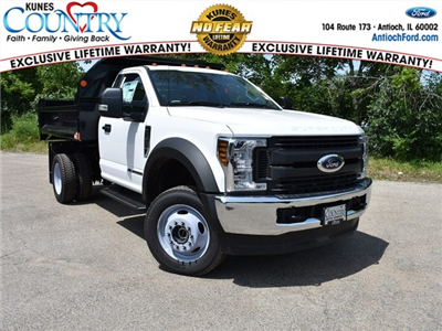 2018 F-450 Regular Cab DRW 4x4,  Monroe MTE-Zee Dump Body #AT09956 - photo 1