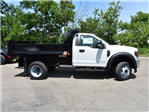 2018 F-450 Regular Cab DRW 4x4,  Monroe MTE-Zee Dump Body #AT09956 - photo 4