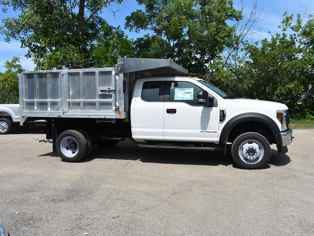 2018 F-450 Super Cab DRW 4x4,  Monroe Landscape Dump #AT09959 - photo 4