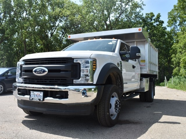 2018 F-450 Super Cab DRW 4x4,  Monroe Landscape Dump #AT09959 - photo 6