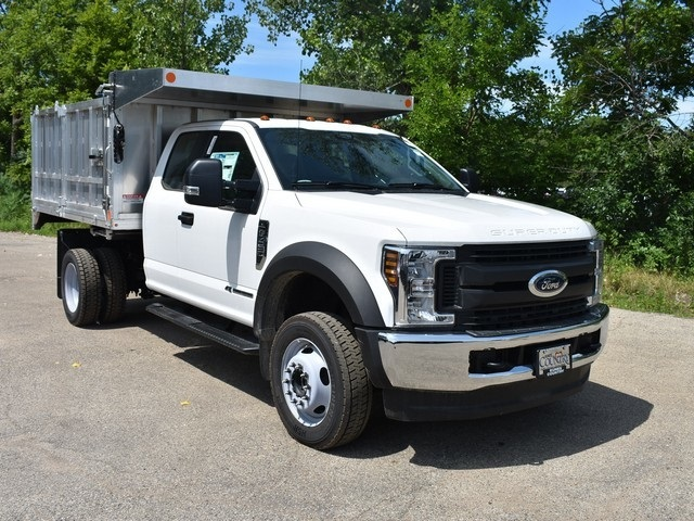 2018 F-450 Super Cab DRW 4x4,  Monroe Landscape Dump #AT09959 - photo 8