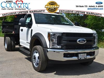 2018 F-450 Regular Cab DRW 4x2,  Monroe MTE-Zee Dump Body #AT09972 - photo 1
