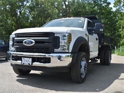 2018 F-450 Regular Cab DRW 4x2,  Monroe MTE-Zee Dump Body #AT09972 - photo 6