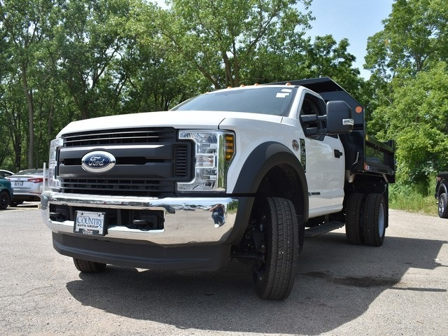 2018 F-450 Regular Cab DRW 4x4,  Monroe Dump Body #AT09979 - photo 6