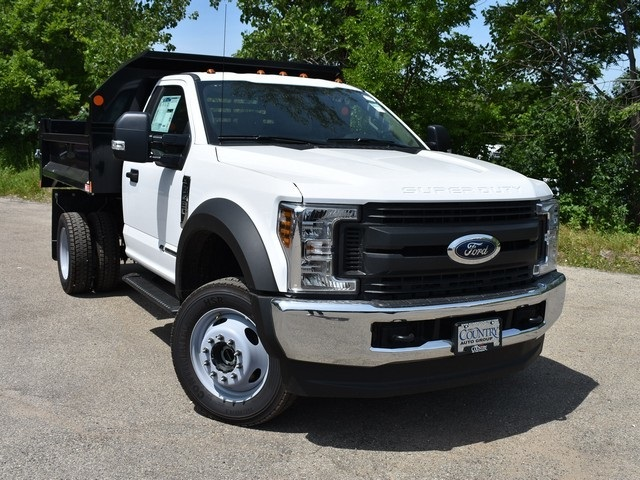 2018 F-450 Regular Cab DRW 4x4,  Monroe Dump Body #AT09979 - photo 8