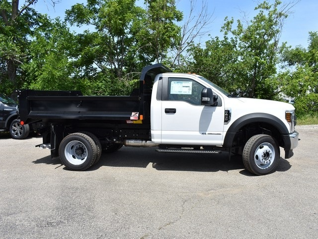2018 F-450 Regular Cab DRW 4x4,  Monroe Dump Body #AT09979 - photo 4