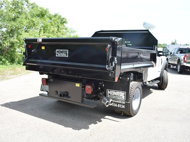 2018 F-450 Regular Cab DRW 4x4,  Monroe Dump Body #AT09979 - photo 2
