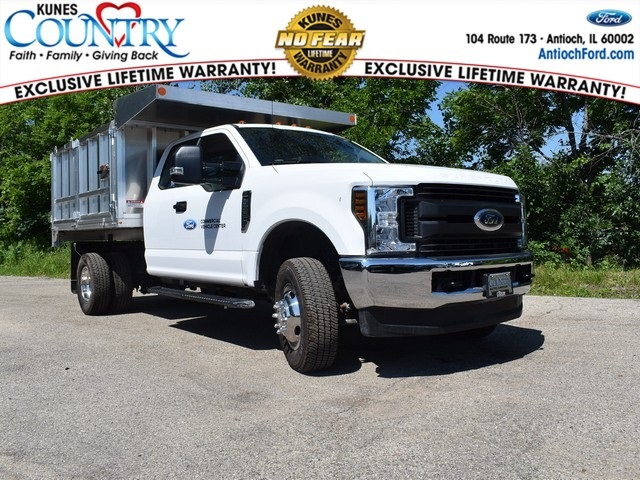 2018 F-350 Super Cab DRW 4x4,  Monroe MTE-Zee Landscape Dump #AT09980 - photo 1