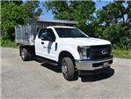 2018 F-350 Super Cab DRW 4x4,  Monroe MTE-Zee Landscape Dump #AT09980 - photo 8