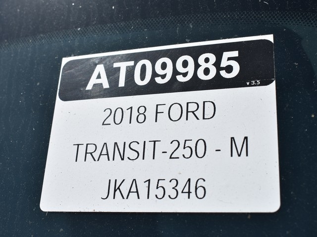 2018 Transit 250 Med Roof 4x2,  Empty Cargo Van #AT09985 - photo 38