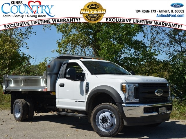 2018 F-450 Regular Cab DRW 4x4,  Monroe Dump Body #AT10039 - photo 3