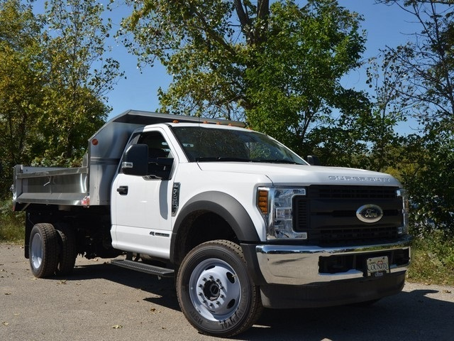2018 F-450 Regular Cab DRW 4x4,  Monroe Dump Body #AT10039 - photo 10