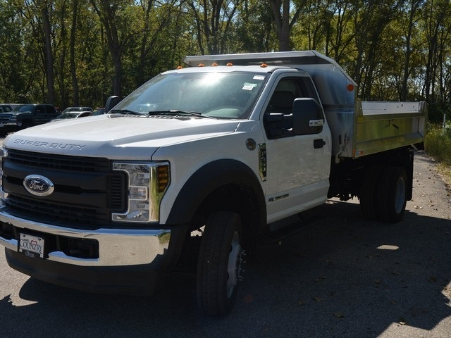 2018 F-450 Regular Cab DRW 4x4,  Monroe Dump Body #AT10039 - photo 8