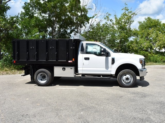 2018 F-350 Regular Cab DRW 4x4,  Monroe Landscape Dump #AT10054 - photo 3