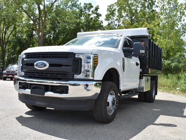 2018 F-350 Regular Cab DRW 4x4,  Monroe Landscape Dump #AT10054 - photo 6