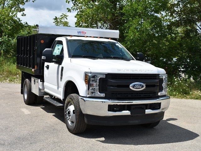 2018 F-350 Regular Cab DRW 4x4,  Monroe Landscape Dump #AT10054 - photo 8