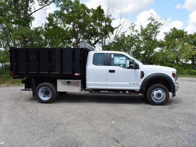 2018 F-450 Super Cab DRW 4x4,  Monroe Landscape Dump #AT10062 - photo 3
