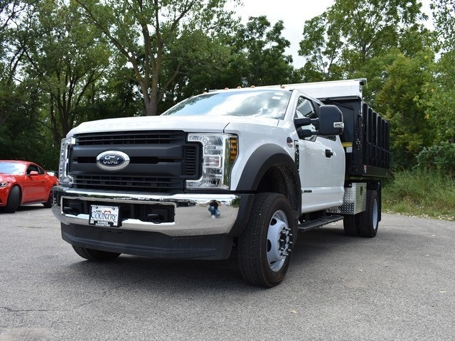 2018 F-450 Super Cab DRW 4x4,  Monroe Landscape Dump #AT10062 - photo 6