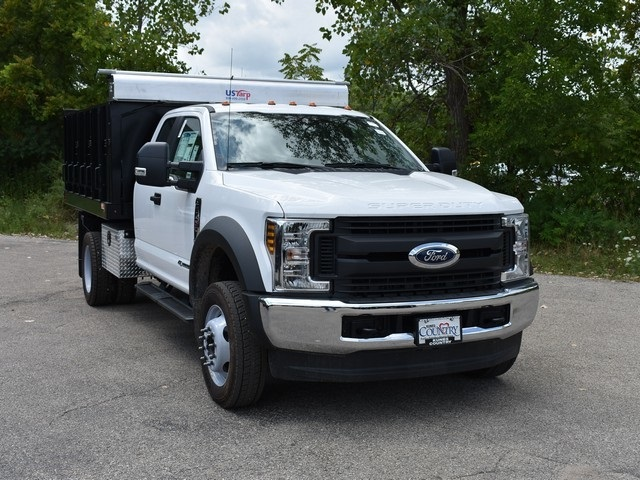 2018 F-450 Super Cab DRW 4x4,  Monroe Landscape Dump #AT10062 - photo 8