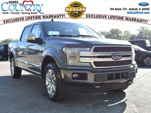 2018 F-150 SuperCrew Cab 4x4,  Pickup #AT10211 - photo 1