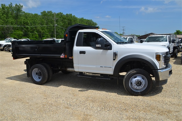 2019 F-450 Regular Cab DRW 4x4,  Monroe Dump Body #AT10214 - photo 4