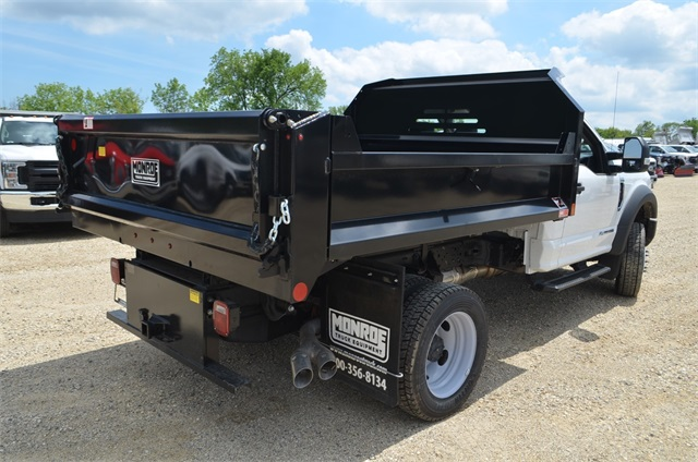 2019 F-450 Regular Cab DRW 4x4,  Monroe Dump Body #AT10214 - photo 2