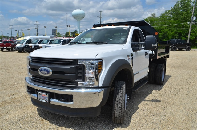 2019 F-450 Regular Cab DRW 4x4,  Monroe Dump Body #AT10214 - photo 7