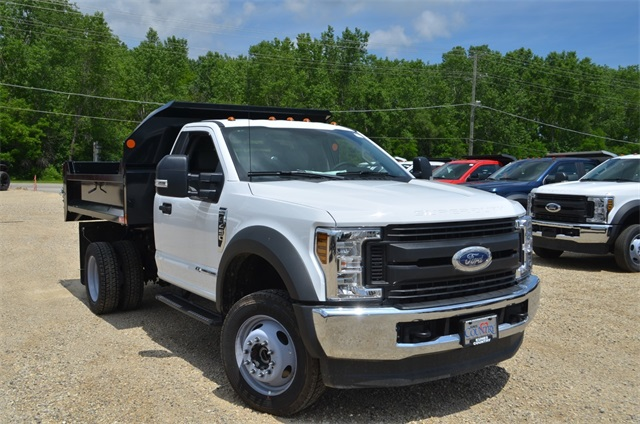 2019 F-450 Regular Cab DRW 4x4,  Monroe Dump Body #AT10214 - photo 9