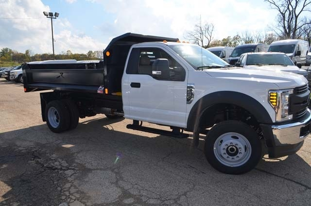 2019 F-450 Regular Cab DRW 4x4,  Dump Body #AT10215 - photo 4