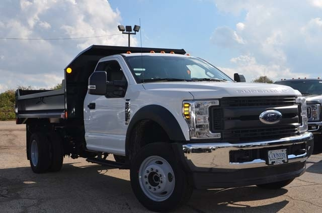 2019 F-450 Regular Cab DRW 4x4,  Monroe Dump Body #AT10215 - photo 10