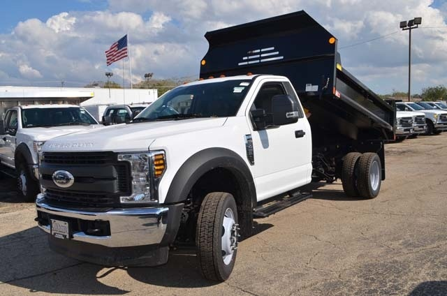 2019 F-450 Regular Cab DRW 4x4,  Monroe Dump Body #AT10215 - photo 14
