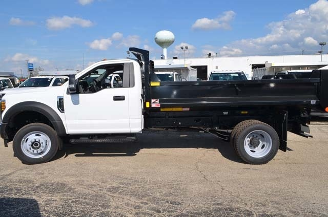 2019 F-450 Regular Cab DRW 4x4,  Monroe Dump Body #AT10215 - photo 8