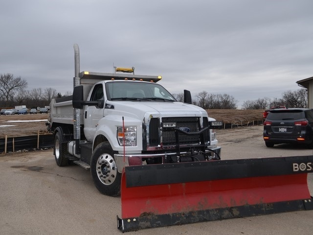 2019 F-650 Regular Cab DRW 4x2,  Monroe Dump Body #AT10217 - photo 10