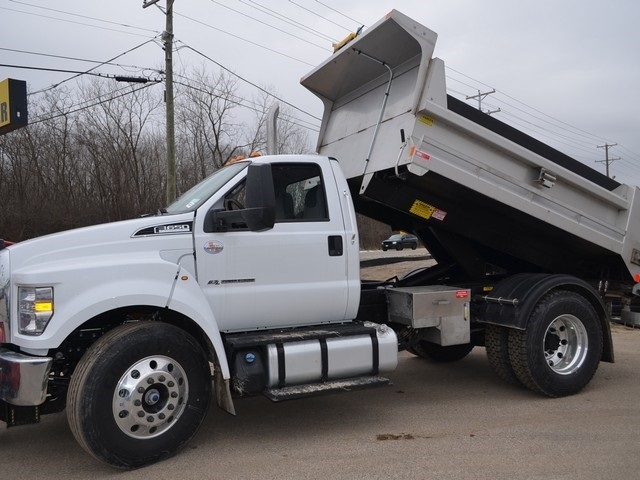 2019 F-650 Regular Cab DRW 4x2,  Monroe Dump Body #AT10217 - photo 19