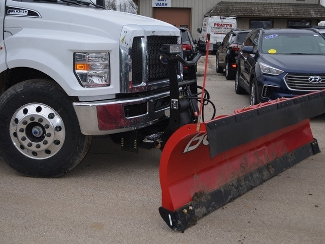 2019 F-650 Regular Cab DRW 4x2,  Monroe Dump Body #AT10217 - photo 3