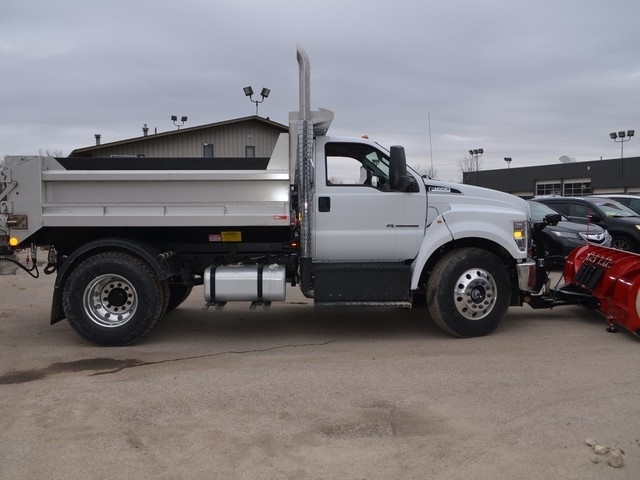 2019 F-650 Regular Cab DRW 4x2,  Monroe Dump Body #AT10217 - photo 4