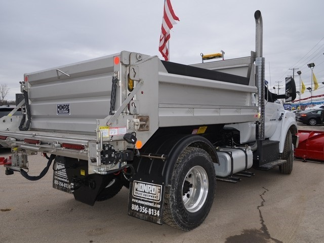 2019 F-650 Regular Cab DRW 4x2,  Monroe Dump Body #AT10217 - photo 2